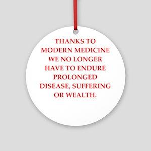 medicine Round Ornament