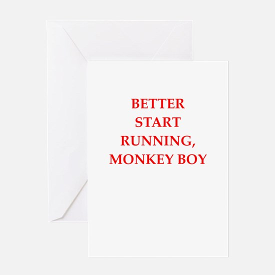 run Greeting Cards