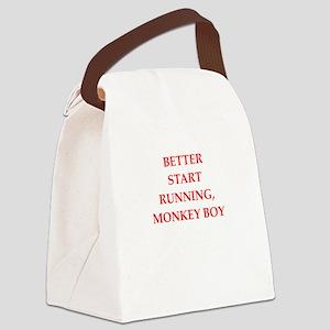 run Canvas Lunch Bag