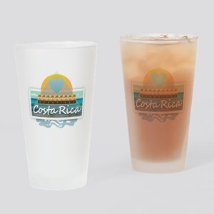 Costa Rica Drinking Glass