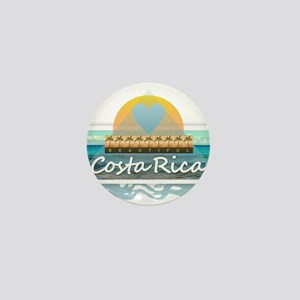 Costa Rica Mini Button