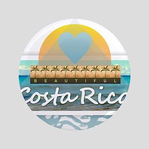 Costa Rica Button