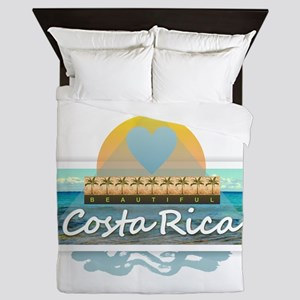 Costa Rica Queen Duvet