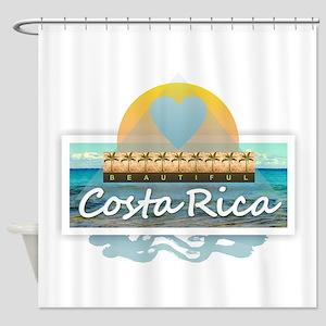 Costa Rica Shower Curtain