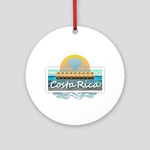 Costa Rica Round Ornament