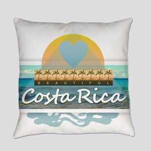 Costa Rica Everyday Pillow