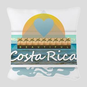 Costa Rica Woven Throw Pillow