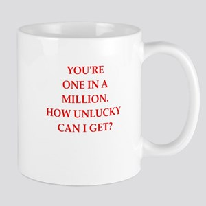 one on a million Mugs