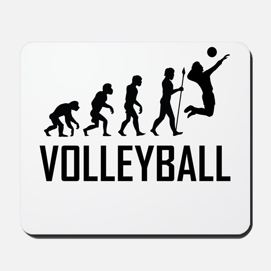 Volleyball Evolution Mousepad