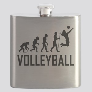 Volleyball Evolution Flask