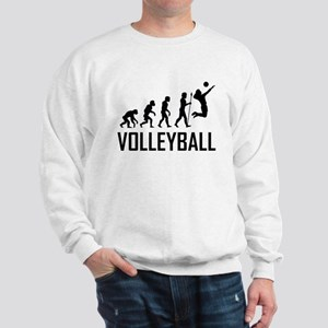Volleyball Evolution Sweatshirt