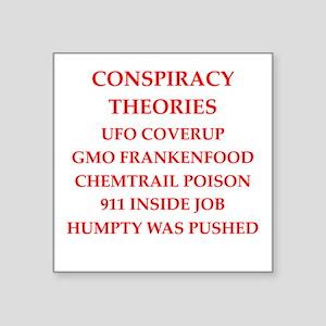 conspiracy theories Sticker