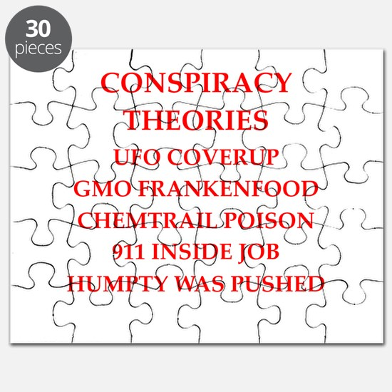 conspiracy theories Puzzle