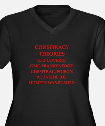 conspiracy theories Plus Size T-Shirt