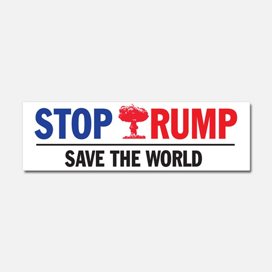Cute Stop the clintons Car Magnet 10 x 3