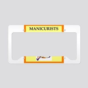 manicure License Plate Holder