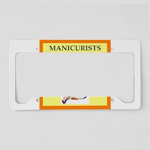 manicure License Plate Holder