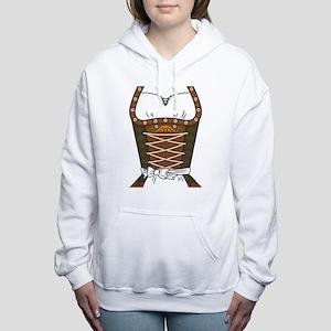 Dirndl Oktoberfest Women's Hooded Sweatshirt