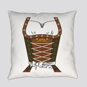 Dirndl Oktoberfest Everyday Pillow