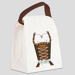 Dirndl Oktoberfest Canvas Lunch Bag