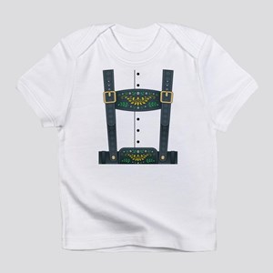 Lederhosen Oktoberfest Infant T-Shirt