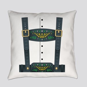 Lederhosen Oktoberfest Everyday Pillow