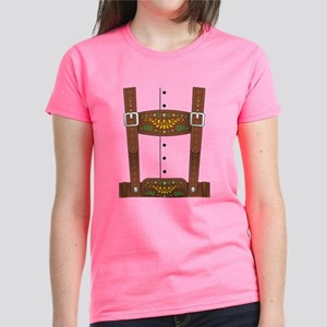 Lederhosen Oktoberfest Women's Dark T-Shirt