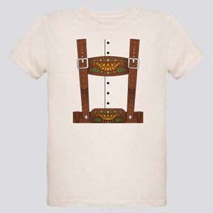 Lederhosen Oktoberfest Organic Kids T-Shirt