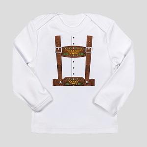 Lederhosen Oktoberfest Long Sleeve Infant T-Shirt