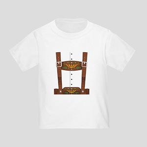 Lederhosen Oktoberfest Toddler T-Shirt