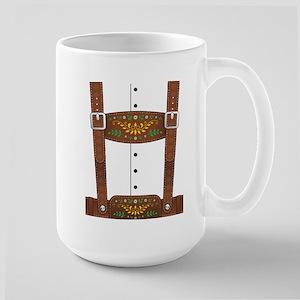 Lederhosen Oktoberfest Large Mug