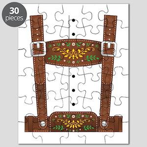 Lederhosen Oktoberfest Puzzle