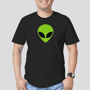 Green alien face T-Shirt