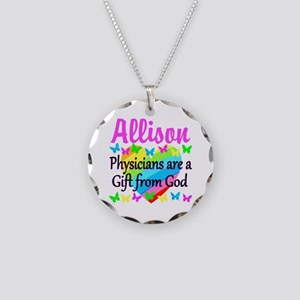 CHRISTIAN DOCTOR Necklace Circle Charm