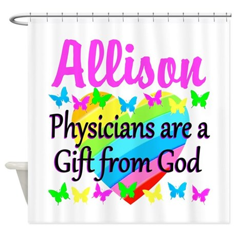 CHRISTIAN DOCTOR Shower Curtain