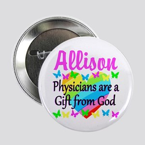 """CHRISTIAN DOCTOR 2.25"""" Button"""
