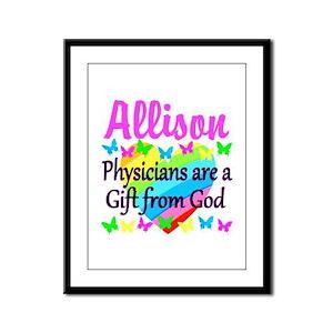 CHRISTIAN DOCTOR Framed Panel Print
