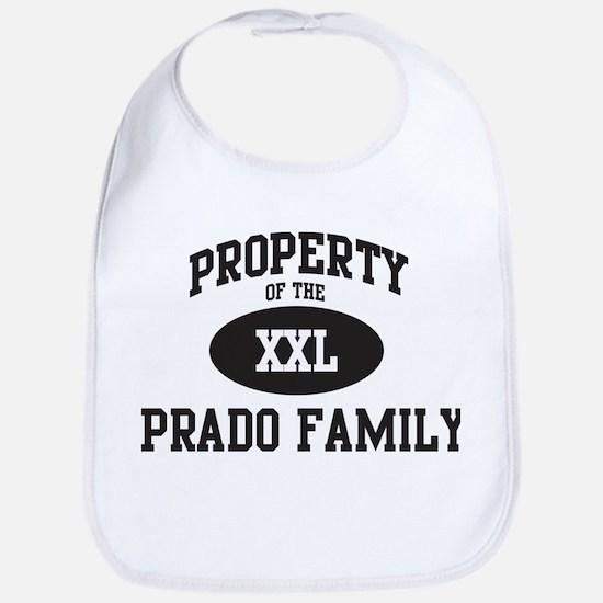 Property of Prado Family Bib