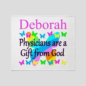 CHRISTIAN DOCTOR Throw Blanket