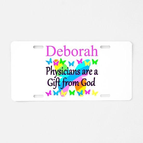 CHRISTIAN DOCTOR Aluminum License Plate