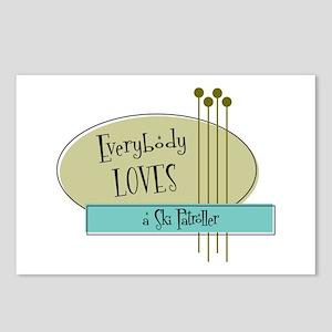 Everybody Loves a Ski Patroller Postcards (Package