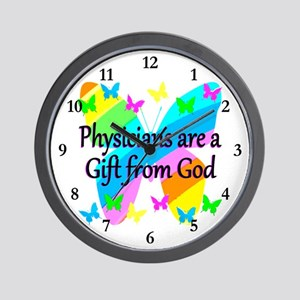 DOCTOR PRAYER Wall Clock