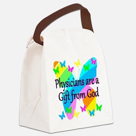 DOCTOR PRAYER Canvas Lunch Bag