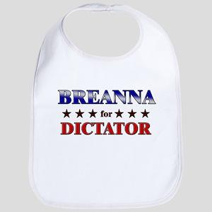 BREANNA for dictator Bib