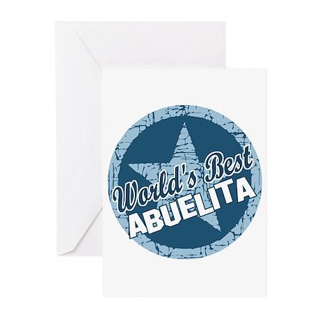 Worlds Best Abuelita Greeting Cards (Pk of 10)