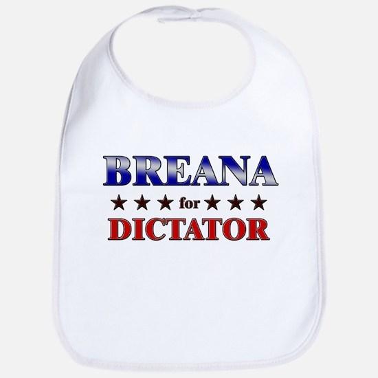 BREANA for dictator Bib