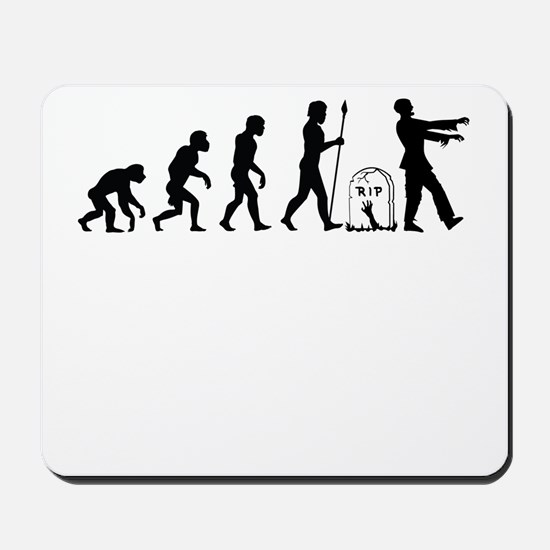 Zombie Evolution Mousepad