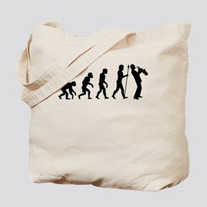 Saxophone Evolution Tote Bag