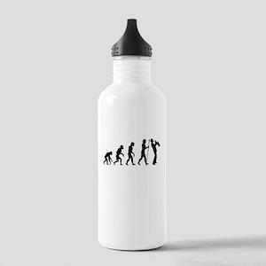 Saxophone Evolution Water Bottle
