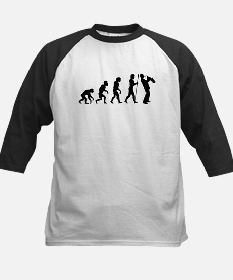 Saxophone Evolution Baseball Jersey